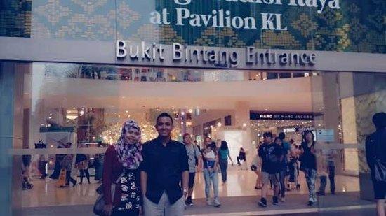 Bukit Bintang: Tempat yg bgus untuk nongkrong dan berbelanja dekat dengan semua transportasi