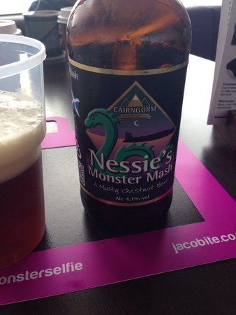 Loch Ness by Jacobite: Nessie's monster ale was a must ☺️