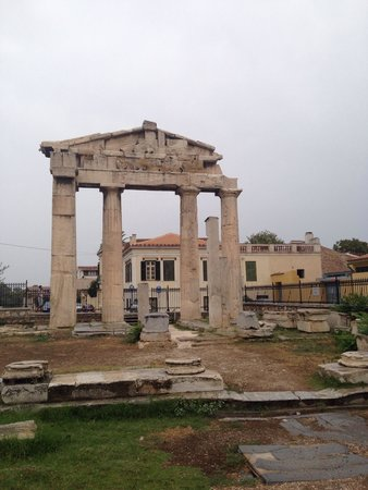 Roman Agora: Римская Агора