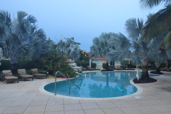 Villa del Mar: Pool at dawn