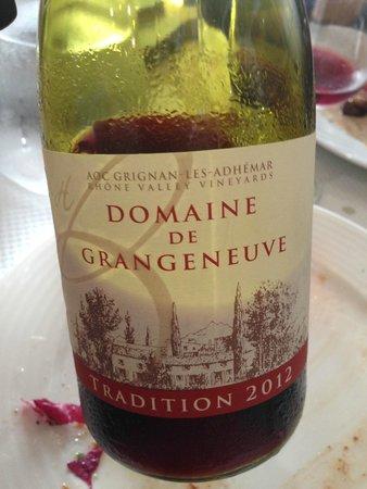 Chez Etienne: Vin rouge