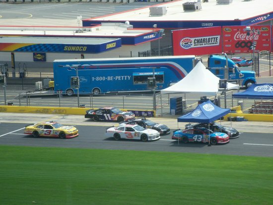 Winners circle picture of charlotte motor speedway Charlotte motor speedway hotels nearby