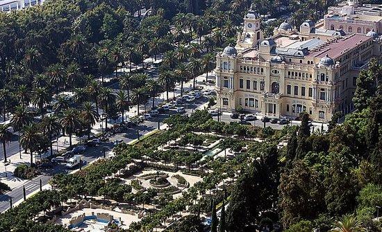 Plaza de Toros: Вид со смотровой площадки