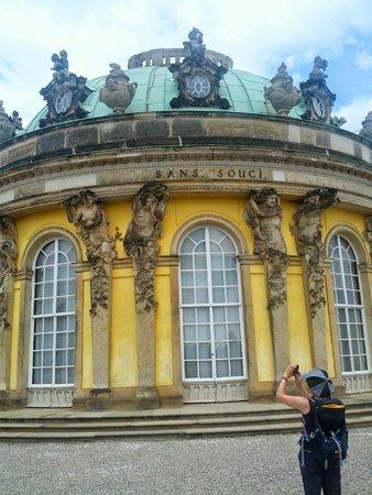 Sanssouci Palace : Castello Sans Souci