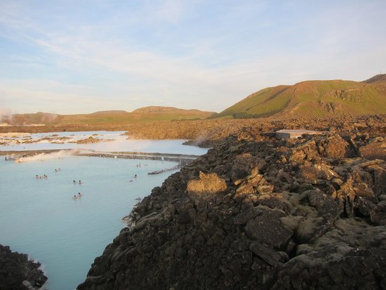 Blue Lagoon : viewing from the roof