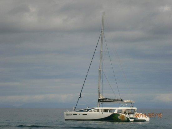 Creole Travel Services: Il catamarano della Creole!!!