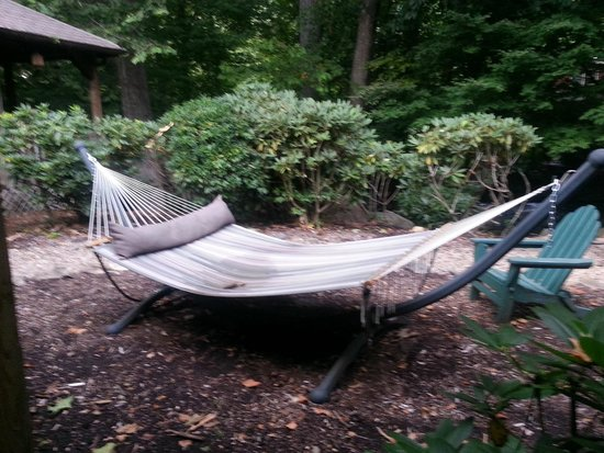 Jonathan Creek Inn and Villas: Hammock to use in the back of Inn