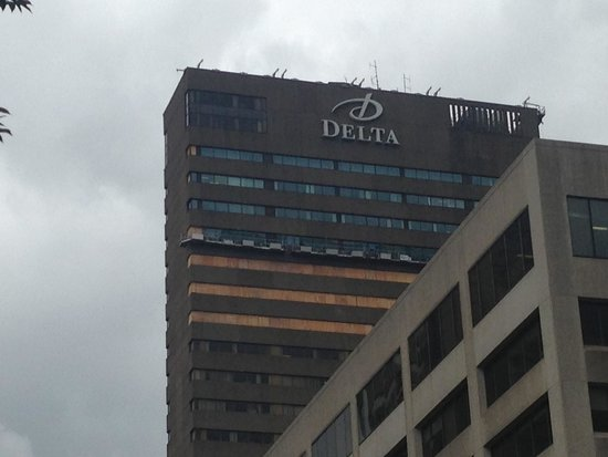 Delta Hotels by Marriott Quebec: Outside view