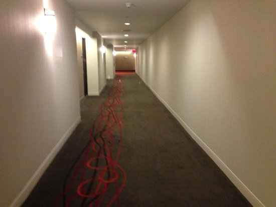 Delta Hotels by Marriott Quebec: Hallway