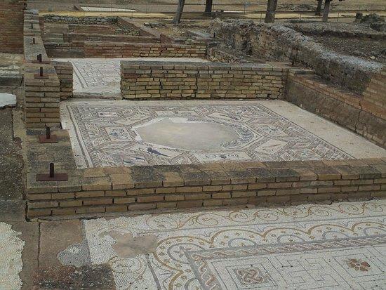 Conjunto Arqueológico Itálica: Mosaic