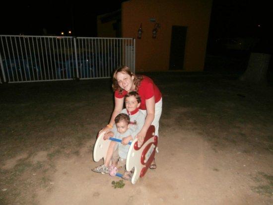 Camping Bosc d'en Roug : parc de jeux
