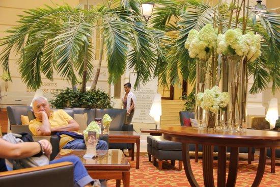 Polonia Palace Hotel: Parte della Hall ....