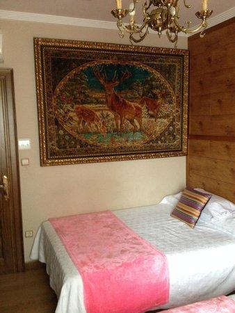 Hotel Playa de Vigo: Wall tapestry