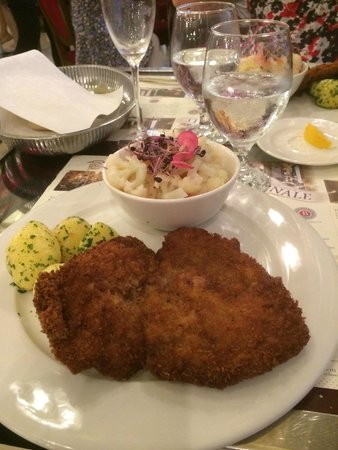 Boscolo Budapest, Autograph Collection : Dinner in the New York - simple well cooked Hungarian cusine