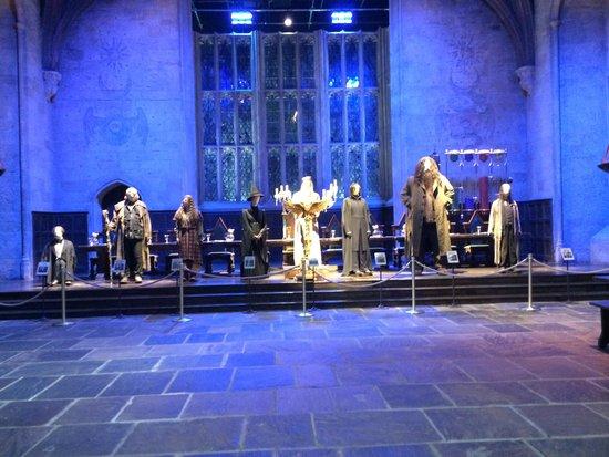 Warner Bros. Studio Tour London - The Making of Harry Potter: 大広間