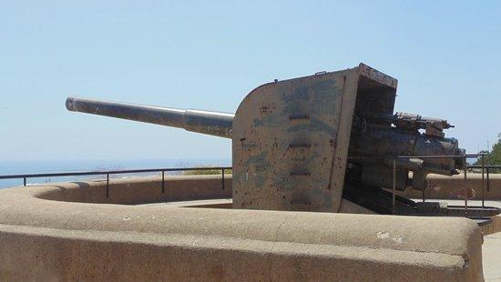 Montjuic Castle: Modern Weaponary
