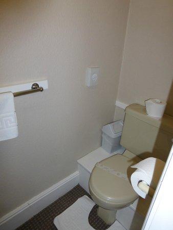 Bridgefoot House: Small ensuite shower/toilet