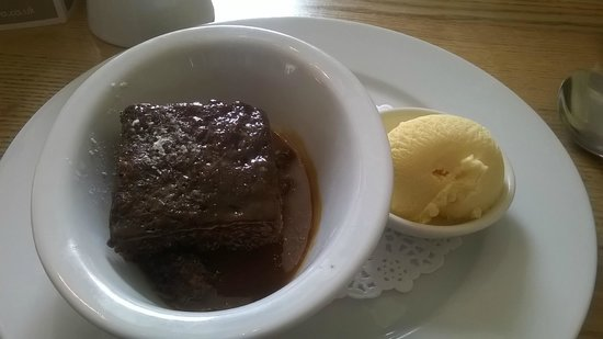 Water of Leith Cafe Bistro: Sticky Toffee Pudding. Yum Yum