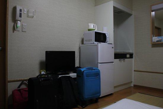 Tokyo House Ikebukuro: room attached with bathroom