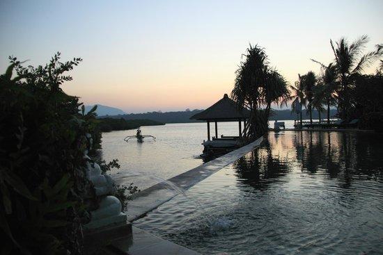 Mimpi Resort Menjangan: poolside