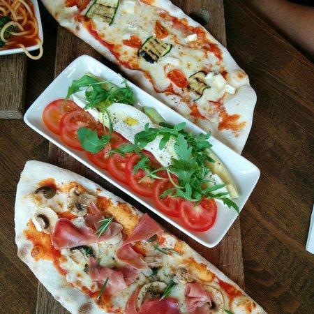 Prezzo - Salisbury: Two light pizzas of choice with salad