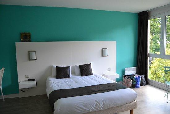 Latitude Ouest Hôtel & Restaurant : notre chambre