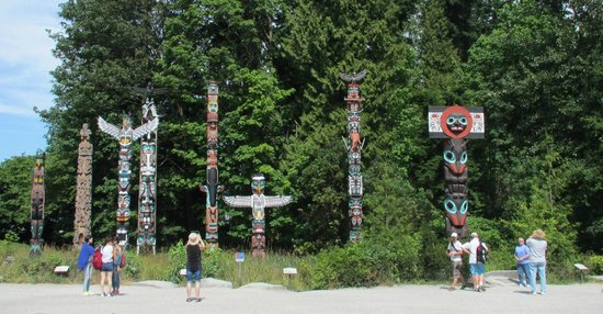 Stanley Park: Totems