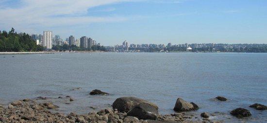 Stanley Park: Vue sur la mer