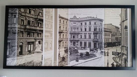 Radisson Blu Schwarzer Bock Hotel: hestoric drawing