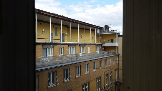 Radisson Blu Schwarzer Bock Hotel: view from my business class room