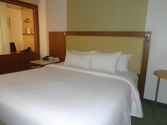 SpringHill Suites Atlanta Airport Gateway: bed