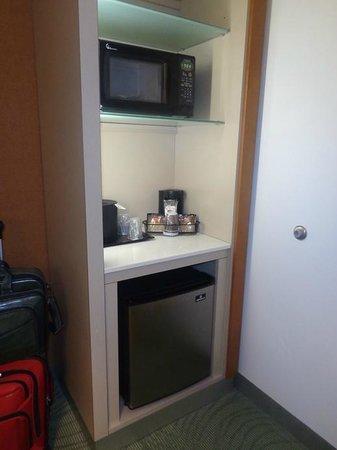 SpringHill Suites by Marriott Atlanta Airport Gateway: fridge/microwave