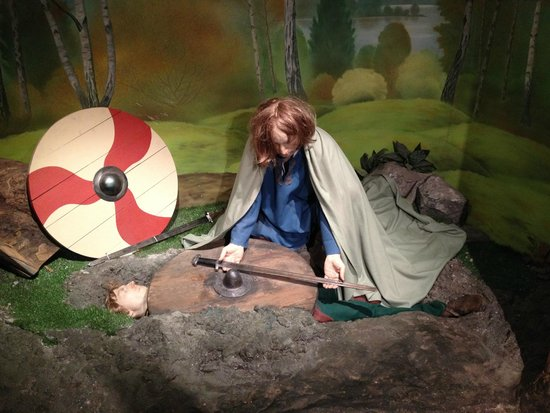 Dublinia: Experience Viking and Medieval Dublin : Great exhibits!