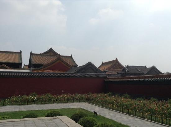 Shenyang Imperial Palace (Gu Gong): wall