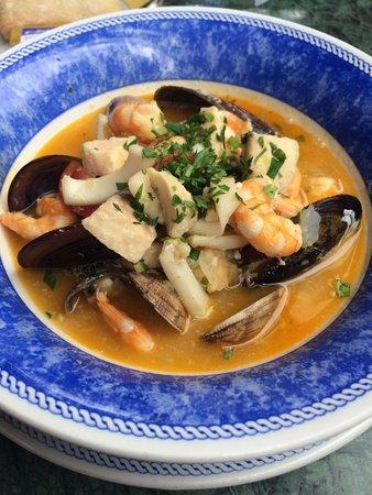 Da Fabio El Rosario : Seafood soup