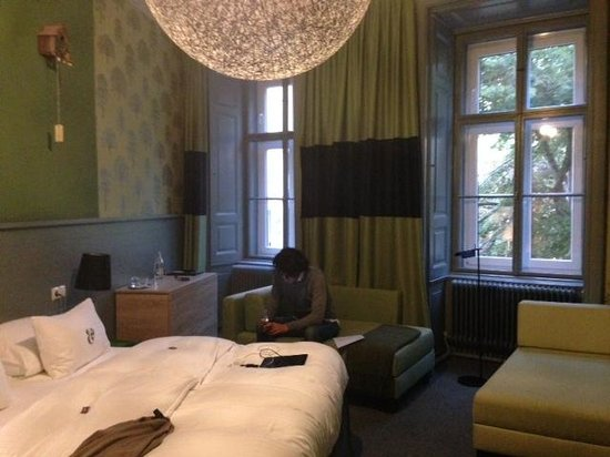 Hotel Saint Shermin : camera
