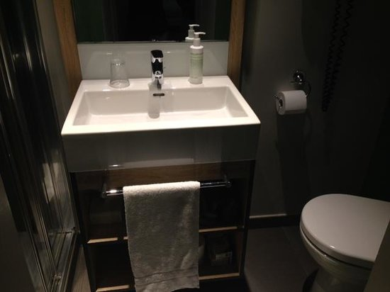 Hotel Saint Shermin : bagno...molto piccolo
