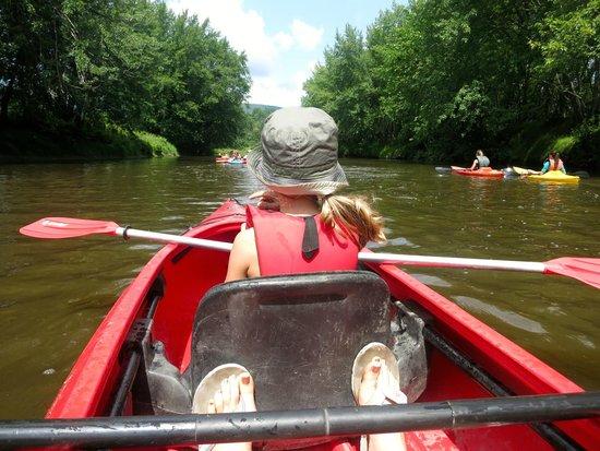 Au Diable Vert : Kayak sur la rivière Missisquoi