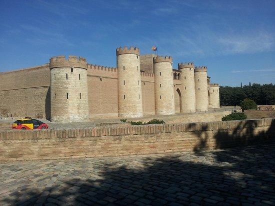 Palacio de la Aljaferia : Palacio de la Aljafería