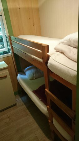 Camping La Grand'Metairie : Chambre enfant