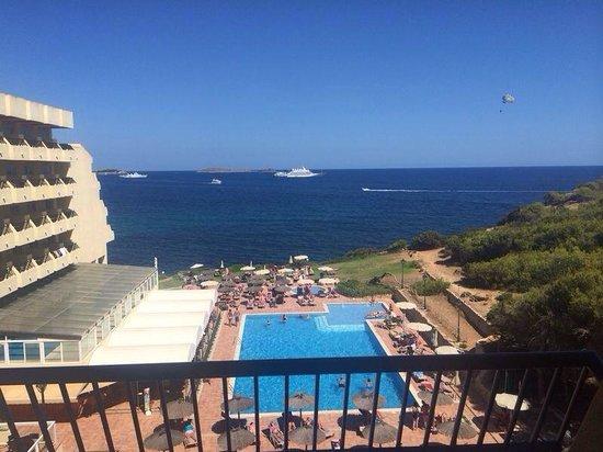 Sol Beach House Ibiza : View from balcony