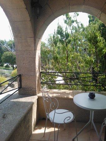 Abbaye de Sainte Croix : terrasse privée