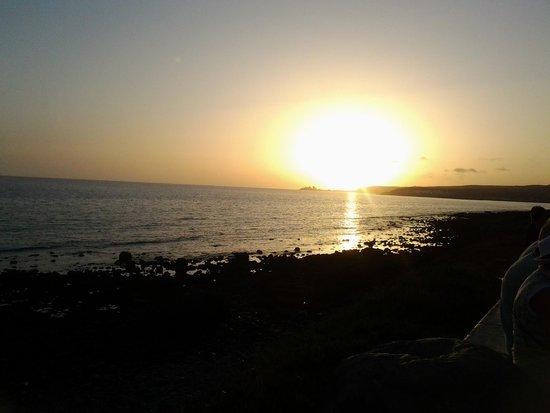 Puesta de Sol desde Faro de Maspalomas