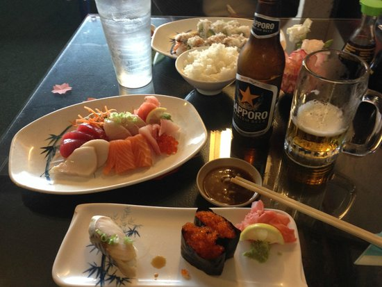 Lake Dora Sushi & Sake: Another Great Sashimi Dinner @ Mt.Dora Sushi