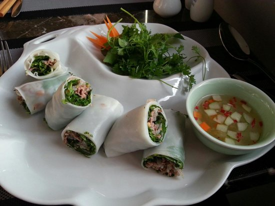 The Gourmet Corner Restaurant: Rolls ..yum