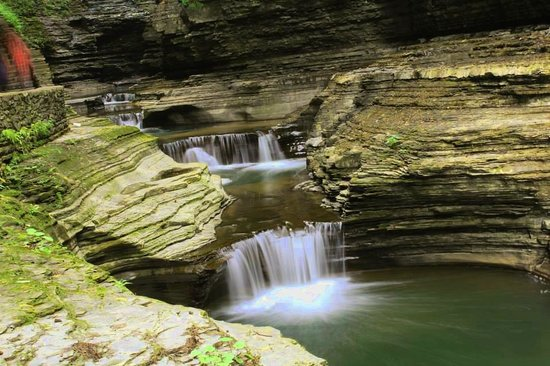 Watkins Glen State Park: Little Falls of Wonder