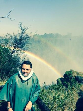 AVANI Victoria Falls Resort: 2 rainbows at victoria falls