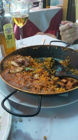 Restaurante Titoyayo: arroz con pulpo
