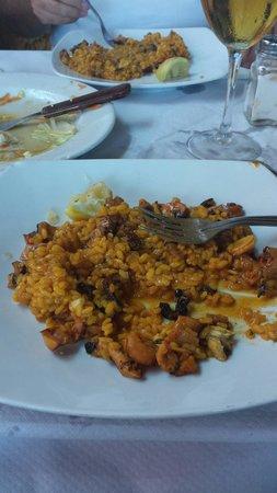 Restaurante Titoyayo: buenisimo...arroz con pulpo