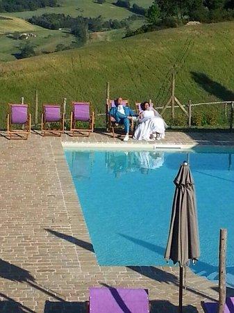 Bio Agriturismo Fattoria Fontegeloni: Heerlijk bijkomen van een prachtige huwelijksdag